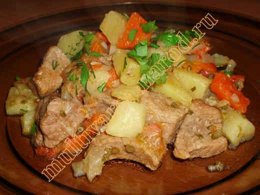 рецепты для мультиварки с мясом